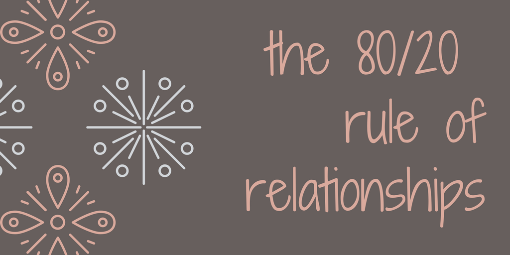Dating 80 20 rule in Australia